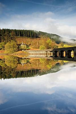Photograph - Elan Valley Aqueduct by Stephen Taylor