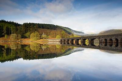 Photograph - Elan Valley In The Morning by Stephen Taylor