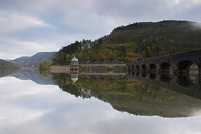 Photograph - Elan Valley Rising Mist by Stephen Taylor