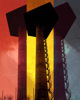Art Print featuring the photograph Elastic Concrete Part Three by Sir Josef - Social Critic - ART