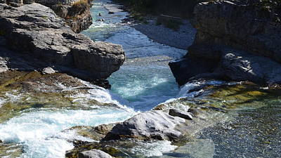 Photograph - Elbow Falls by Cheryl Miller