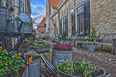 Elburg Alley Art Print by Frans Blok