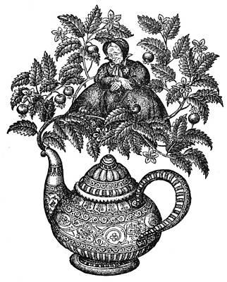 Elder-tree Mother Art Print by Granger