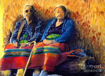 Painting - Elders by Cindy McIntyre