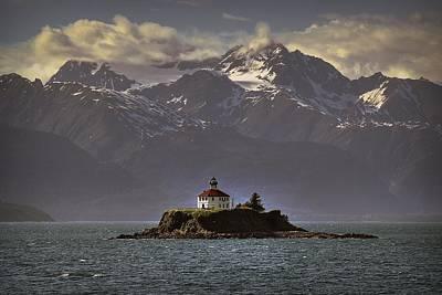 Eldred Rock Lighthouse Alaska Art Print