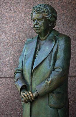 Flotus Photograph - Eleanor Roosevelt Memorial Detail by John Cardamone