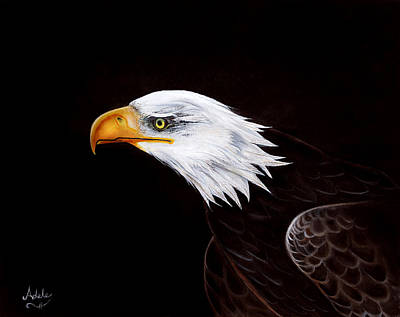 Painting - Eleanor The Eagle by Adele Moscaritolo