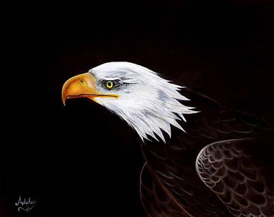 Eleanor The Eagle Art Print