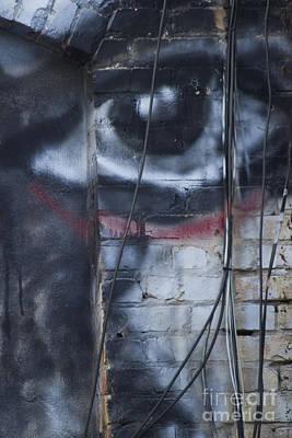 Photograph - Elecrtic Eye Outsider Art by Nola Lee Kelsey