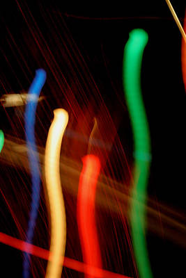 Photograph - Electric Bean Sprouts by Ric Bascobert