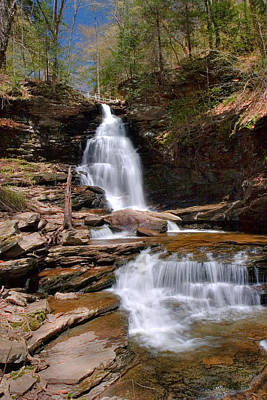 Photograph - Electric Blue Skies Over Ozone Falls by Gene Walls