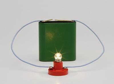 Circuit Photograph - Electric Circuit by Dorling Kindersley/uig