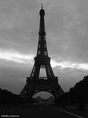 Eifell Tower Photograph - Electric Eiffel by Bobby Uzdavines