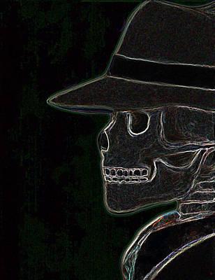 Electric Evil Art Print by Tanysha Bennett-Wilson