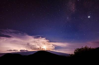 Photograph - Electric Heavens 2 by Jason Chu