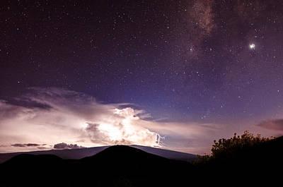 Photograph - Electric Heavens 4 by Jason Chu