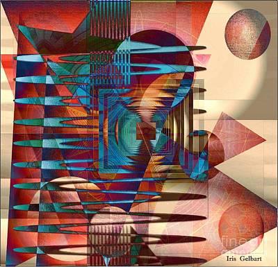 Electric Art Print by Iris Gelbart