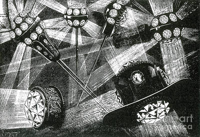 Electric Jewels, 1884 Art Print