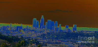 Photograph - Electric Los Angeles by Drew Shourd