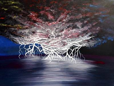 Electric Nights Original by Teressa Nichole