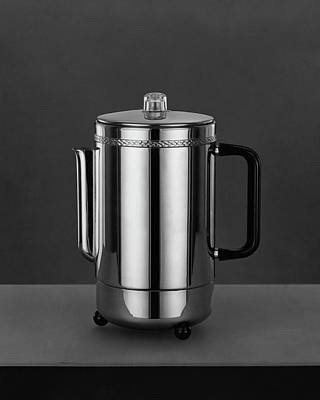 Black And White Photograph - Electric Percolator by Martinus Andersen