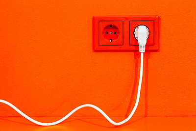 Photograph - Plugged In by Alexey Stiop