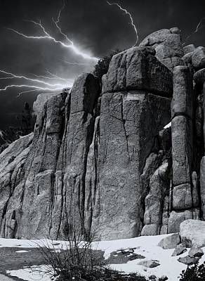 Photograph - Electric Rock by Michael Hope