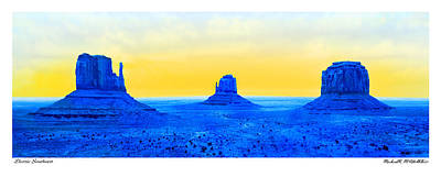 Pop Art Royalty-Free and Rights-Managed Images - Electric Southwest by Mike McGlothlen