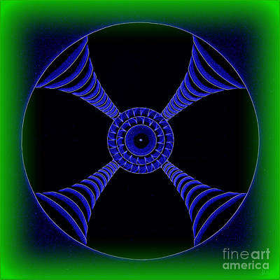 Digital Art - Electric Turbo by Kenneth Clarke