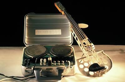Stringed Instrument Photograph - Electric Violin by Patrick Landmann