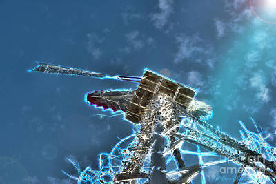 Photograph - Electric Windmill by David Arment