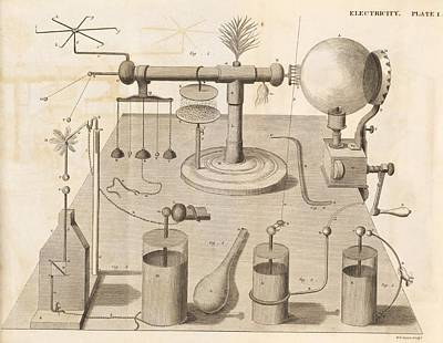 Book Of James Photograph - Electrical Experiments, 19th Century by Science Photo Library