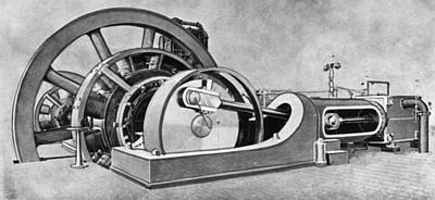 Electricity Generator Art Print by Granger
