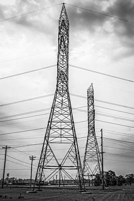 Electricity Pylons Original by Chris Smith