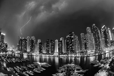 Dubai Photograph - Electricity by Robert Work