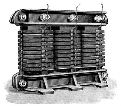Alternating Current Photograph - Electricity Transformer by Science Photo Library