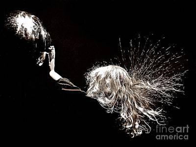 Electrifying Art Print by Scott Allison