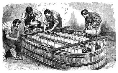 1874 Photograph - Electroplating Industry by Science Photo Library