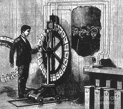 Invention Of Motion Photograph - Electrotachyscope, Animated Picture by Science Source