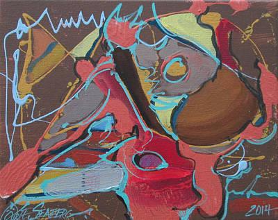 Painting - Elefante Elegant by Jeff Seaberg