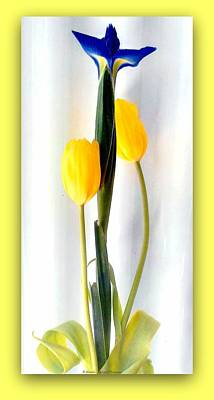 Elegance In Bloom Art Print by Michelle Frizzell-Thompson