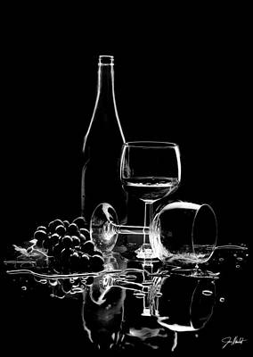 Wines Photograph - Elegance by Jon Neidert