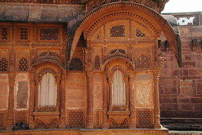 The Dark Knight Photograph - Elegance Of Mehrangarh Fort by Jacqueline M Lewis