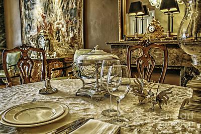Elegant Dinner Table Art Print by Patricia Hofmeester