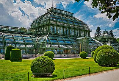 Elegant Greenhouse Art Print by Viacheslav Savitskiy