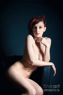 Sensual Photograph - Elegant Nude by Jochen Schoenfeld
