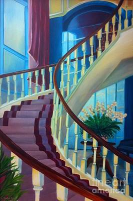 Painting - Elegant Stairway by Shelia Kempf