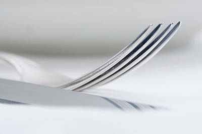 Tableware Photograph - Elegant Table Setting - Extreme Closeup by Panoramic Images
