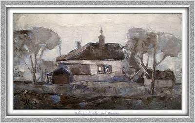 Elegiac Landscape Ell2 Art Print