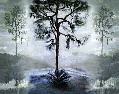 Elegy To A Tree Art Print